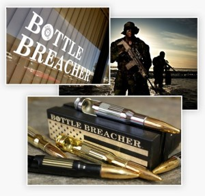 Bottle breacher